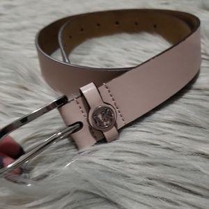 Michael Kors - MK pink belt